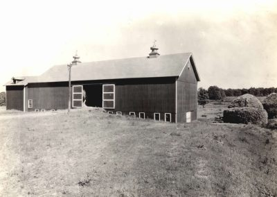 Village of Glenwillow Historical Photos - Barn that fell down