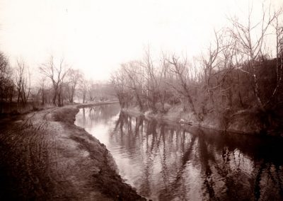 Village of Glenwillow Historical Photos - Canal