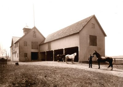 Village of Glenwillow Historical Photos - Horses