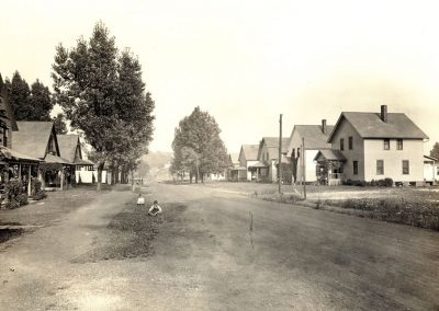 Village of Glenwillow Historical Photos - Main Street