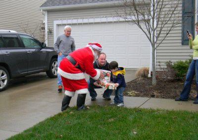 Visit From Santa Claus 2012 005