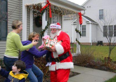 Visit From Santa Claus 2012 006