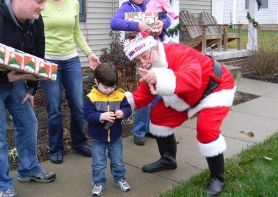 Visit From Santa Claus 2012 007
