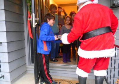 Visit From Santa Claus 2012 030