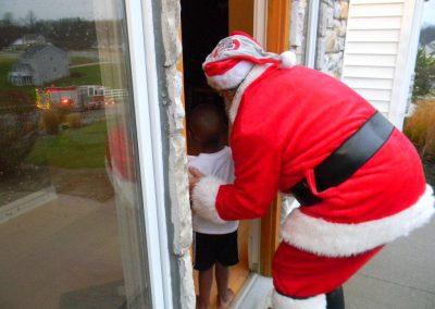 Visit From Santa Claus 2012 050