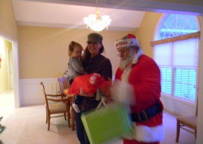 Visit From Santa Claus 2012 058