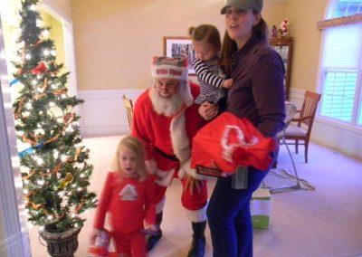 Visit From Santa Claus 2012 060