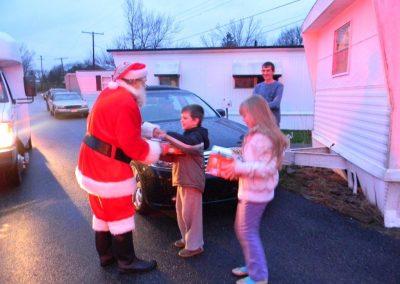 Visit From Santa Claus 2012 074