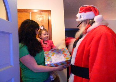Santa Delivery 2013 093