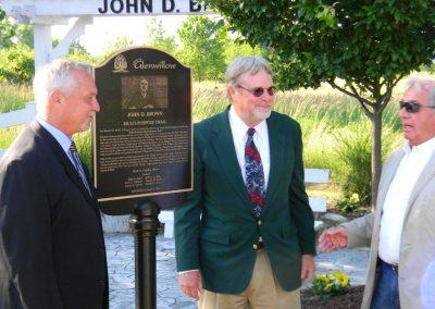 John Brown Dedication 104